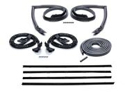 1981-1988 Cutlass Regal Weatherstrip Includes Felts With Reveal Molding