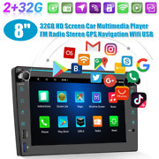 8 Android 10.0 Hd 2+32gb Car Multimedia Fm Player Navigation All-in-one Machine