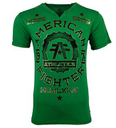 American Fighter Menand039s T-shirt Maryland Tee Athletic Mma