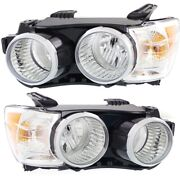 Headlight Lamp Left-and-right For Chevy Lh And Rh Sonic Gm2503396c, Gm2502396c