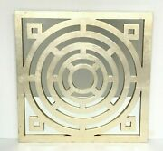 Pottery Barn Maze Mirror 22 Square Gilt Finish Sold Out At Pottery Barn Rare