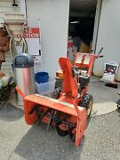 Simplicity 2 Stage Snowblower 28 Orig. 2299 Used. In Great Running Shape.