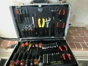 Jensen Jtk-17 Electrical Technician Tool Case With Tools - Used