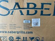 Saber Grills Stainless 18,000 Btu Built-in Natural Gas Double Side Burner New