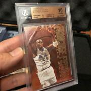 1995-96 Fleer Franchise Futures Shaquille Oand039neal 7 Bgs 10 Pristine Magic