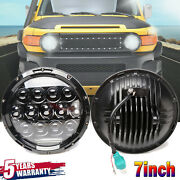 7 Inch 150w Led Headlight Drl Hi/low Beam Lamps Car And Truck Parts Lighting Set