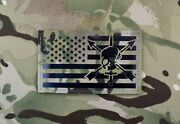 Large Infrared Multicam Ir Us Flag Patch 5 X 3 Special Forces Cif Green Beret