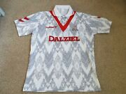 Airdrieonians Shirt Hummel 1992 Old Stock New In Bag Xxl