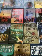 Huge Lot Of 21 Catherine Coulter Fbi Books Book Series All Hardcover Bt