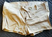 Us Wwii Army P1945 Qm Issued Pocket Less Khaki Cotton Recreational/athletic S