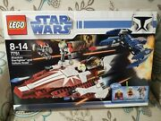 Light Creases New Sealed Lego 7751 Star Wars Ahsoka's Starfighter And Droids Set