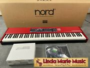 Nord Piano 4 88-note Virtual Hammer Action Weighted Keyboard W Nord Triple Pedal
