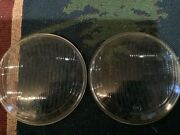 """Nos Glass Headlight Lens Vintage Motorcycle Automotive 6"""" Inch"""