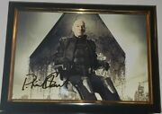 Patrick Stewart - Hand Signed With Coa Avengers Photo 8x10 Framed Autograph
