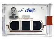 2020 Topps Formula 1 F1 Dynasty Guenther Steiner Triple Relic Auto 1/5 Tra-igs