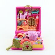 Polly Pocket 1996 Sweet Treate Shoppe Treat Shop W/ Original Dolls And Key