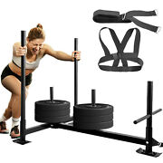 Fitness Hd Weight Power Sled Low Push Pull Athlete Training Transform Exercise