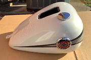 Harley Dav Breakout Gas Fuel Tank Morocco Pearl Gold White 2014 New Genuine