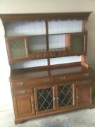 Vintage 1964 Pennsylvania House Cherry Hutch. Gone Given Away