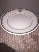 Department Of The Navy Shenango China 4 Salad Plates 7 1/4andrdquo Great Condition