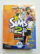 The Sims 2 Open For Business Chinese Edition Pc Vintage Software New And Sealed