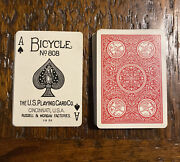 Rare Vintage Bicycle No. 808 Russell Morgan Expert Back Playing Cards Joker Red