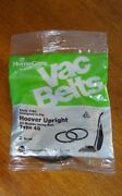 1 Package Home Care Vacuum Vac Belts 1160 Hover Upright Type 48 2 Belts