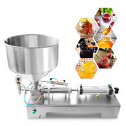 Automatic Fill 100-1000ml Filling Machine Honey/cream/cosmetic/sauce/tooth Paste