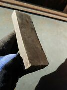 Vintage Double Sided Sharpening Stone Hone Barber Shop Old 6