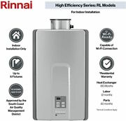 Rinnai He Series 82 Efficient Non Condensing Tankless Water Heaters