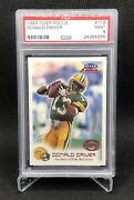 1999 Fleer Focus Donald Driver 118 Psa 9 Rookie Rc Hard To Find Mint /3850