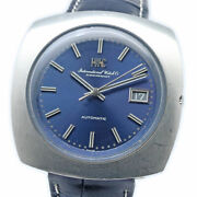Old Inter R825a Blue Dial Cal. 8541b Auto Vintage Watch 1969's Overhauled