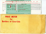 Price Meter For Bottlers Of Coca-cola