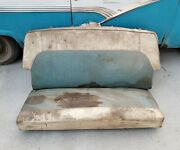 1956 56 Ford Victoria Two Door Rear Seat Oem Fomoco