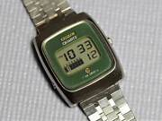 Citizen Liquid Crystal 9010-095014-y First Model Vintage Watch 1974and039s