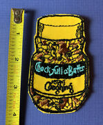 Vintage 1970s Topps Wacky Packages Sew-on Cloth Patch Coffee Spoof Novelty
