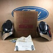 Nos Ford 60 Galaxie Starliner Sunliner Oem C0ab-17858-a Front Bumper Guard Kit