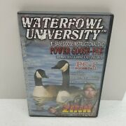Zink Calls Waterfowl University Dvd Pc-1 Goose Call Power Goose-pak Fred Zink