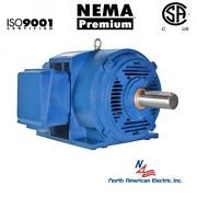 50 Hp Electric Motor 326ts 3 Phase 1778 Rpm Open Drip Proof 208-230/460