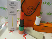1 X 51 Coral Fou Rouge Hermes Satin Lipstick Rouge Limited E Full/ S Nib