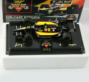 1995 Bobby Rahal Miller Mgd Racing 124 Collectors Indy Racer Diecast W/ Stand