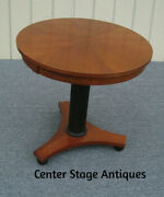 61399 Ethan Allen Cherry Lamp Table Stand