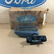 Nos Ford 84 87 Tempo Topaz Oem E43z-17682-a Lh Manual Outside Rearview Mirror