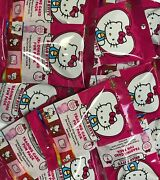 Hello Kitty 40th Anniversary Huge Lot 50 Sealed Packs 470 Items Figures Cards+