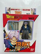 Boxed Bandai Dragonball Z Super Battle Collection Trunks Vol. 5 Action Figure