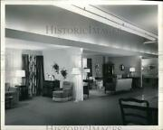 1949 Press Photo Furniture Dept Of A Store With Display At May Co In Cleveland