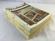 Woodsmith Magazine Spans 1979-2000 Lot Of 26 Vg Condition Woodworking Hobby