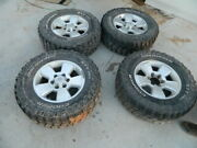 Toyota Suv Truck Wheels And Tires / Rim And Tire 17s 6 Lugs Set 4-lt265/70r17