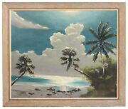 Florida Highwaymen By Livingston Roberts Original Oil Painting