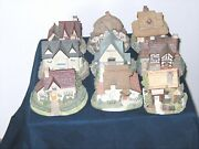 Lot Of 9 -- A Collection Of Old Englandandrsquos Classical Cottages